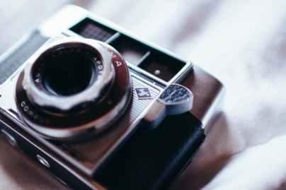 close up photo of camera